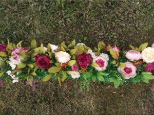 Гирлянда из цветов