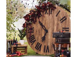 Фотозона «Деревянные Часы»