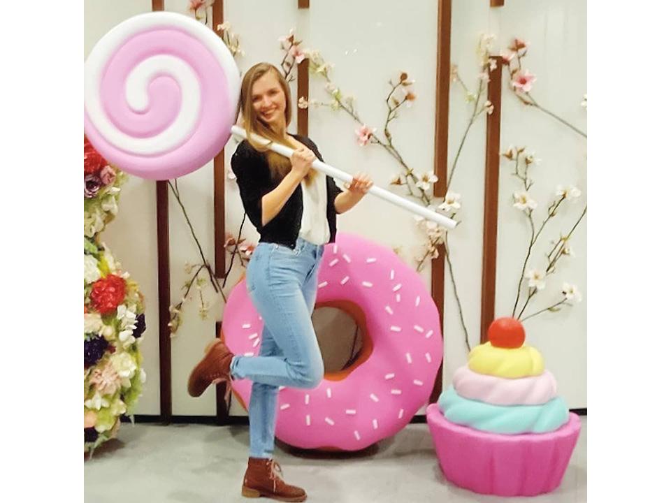 Фотозона «Набор сладостей»